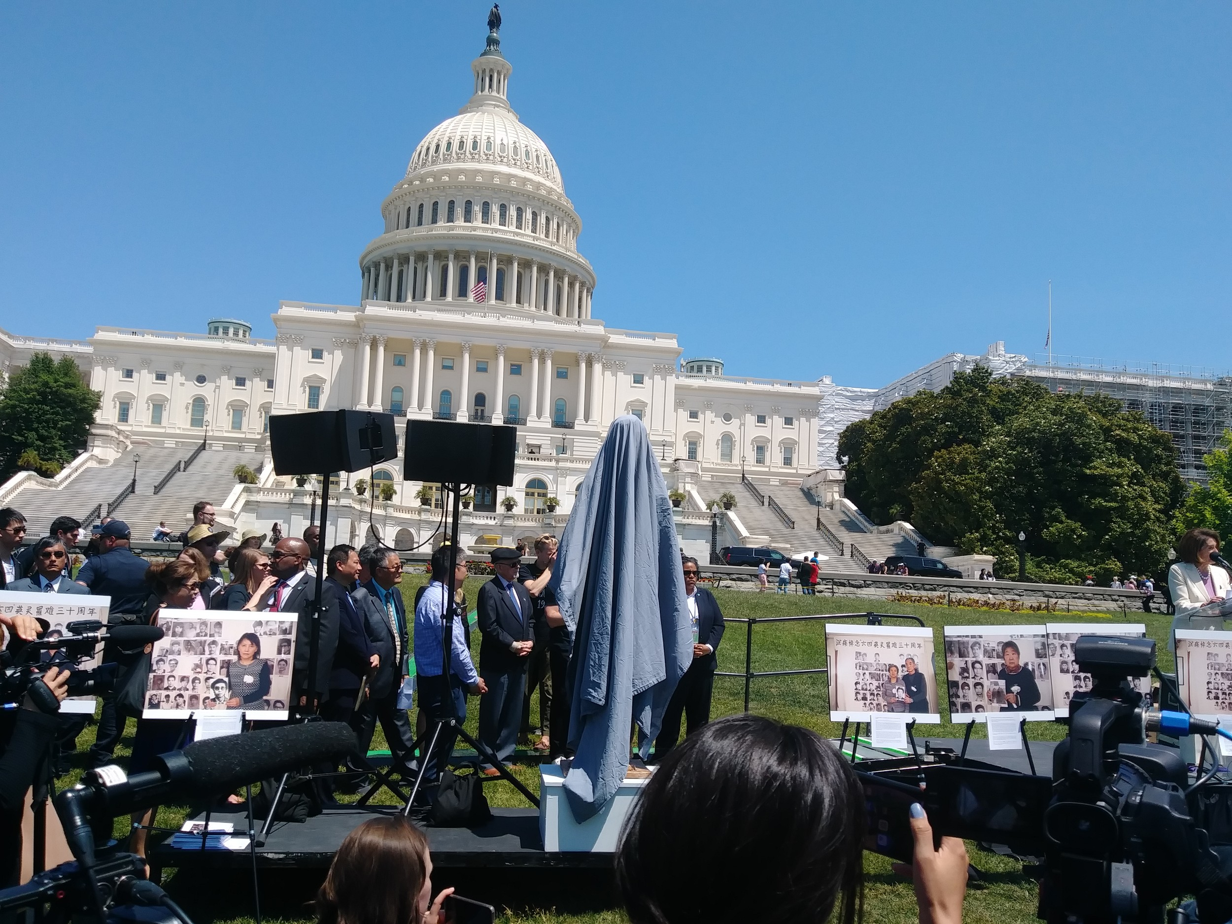 八九六四30周年华盛顿纪念活动,多位知名民主人士与会。(北明拍摄)