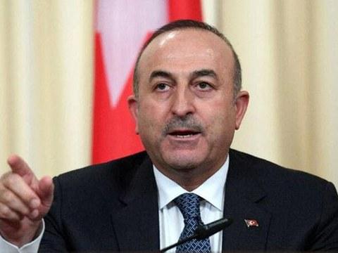 土耳其外交部长恰武什奥卢(Mevlut Cavusoglu)。