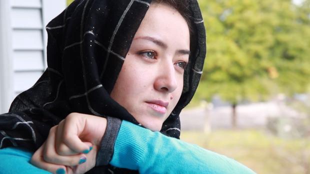 維吾爾族女子米娜