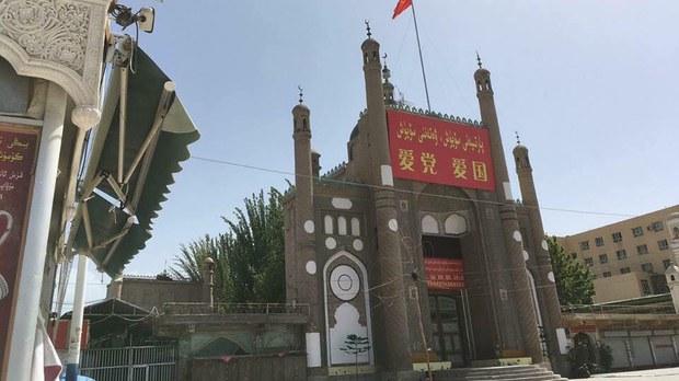 專欄   解讀新疆:伊寧市清真寺改建爲酒店