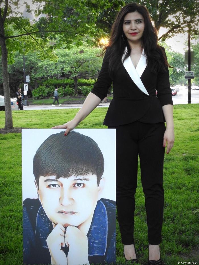 """莱汉·阿萨特的弟弟伊克帕·阿萨特因""""煽动种族仇恨""""罪而被判处15年徒刑。(莱汉·阿萨特提供)"""