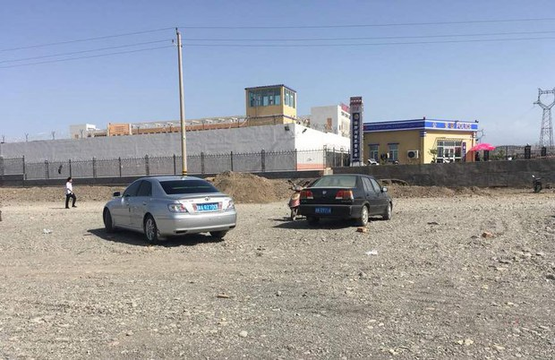 一個新疆再教育營。(Public Domain)