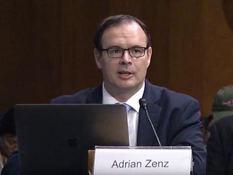 德國的新疆問題專家曾德恩(Adrian Zenz)