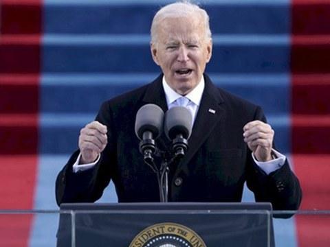 拜登(Joe Biden)就职演说,将开启美中关系新的一页。
