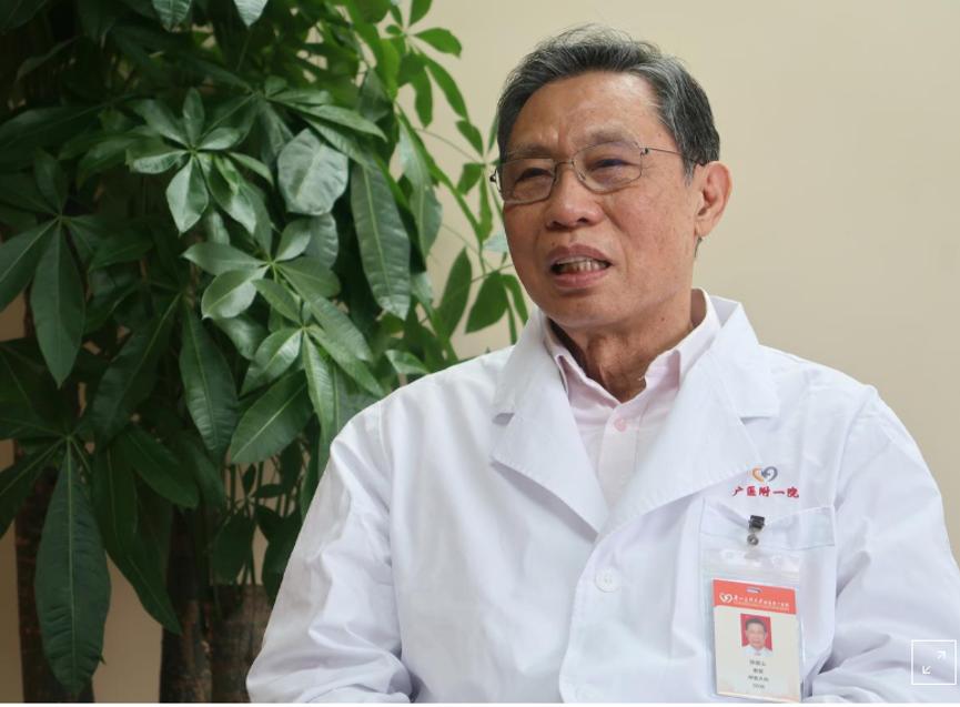 中国传染病专家钟南山受访时说,新型冠状病毒疫情预计在2月达到高峰。他:「希望这次疫情或这一事件能在4月左右结束。」(路透社)