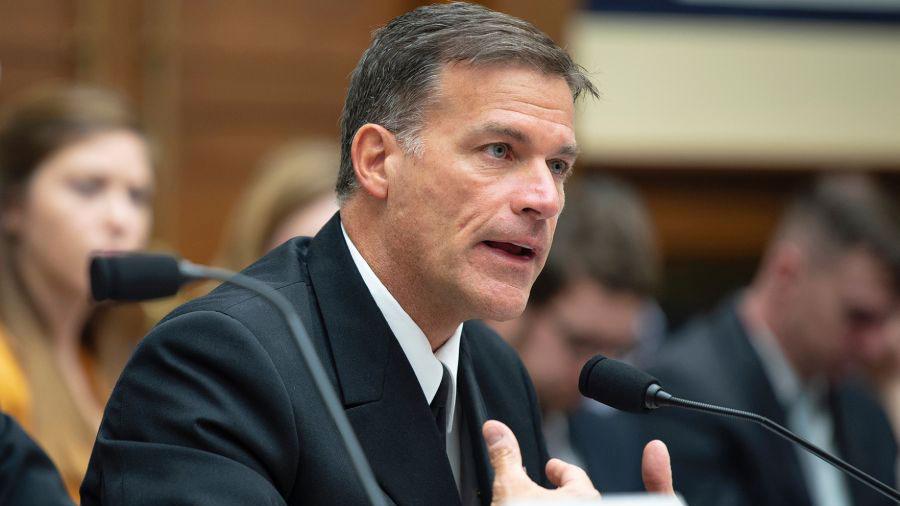 美国太平洋舰队司令阿奎利诺(John Aquilino)说:中共犯台威胁比大部分人所想的还要更接近我们。(Stars and Stripes)