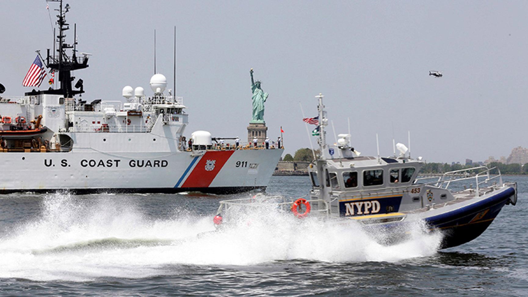 美台签署海巡合作备忘录,美国海岸警卫队(USCG)将可来台协作值勤。(AP)