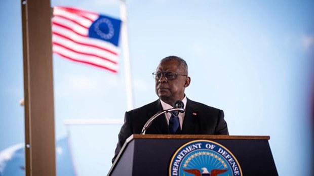 美国防长奥斯汀(Lloyd Austin)发表演说指出,美国打下一场重大战争的方式将与上一场战争大不相同。