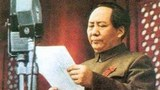 """毛澤東""""北平方式""""的統一模式重新提起,以內應和軍事壓力使臺灣屈服。圖爲1949年毛在開國大典。"""