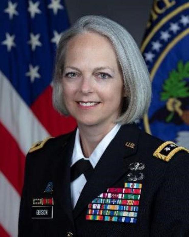 2019年美國副國家情報總監吉布森(Karen Gibson)呼籲美軍,必須做好應對和威懾混合戰的準備。(Wikimedia)