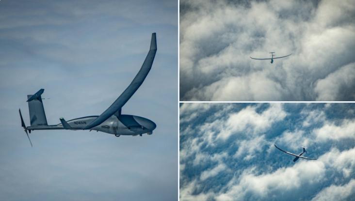 无人机在空中侦察。(Twitter, UxS IBP)