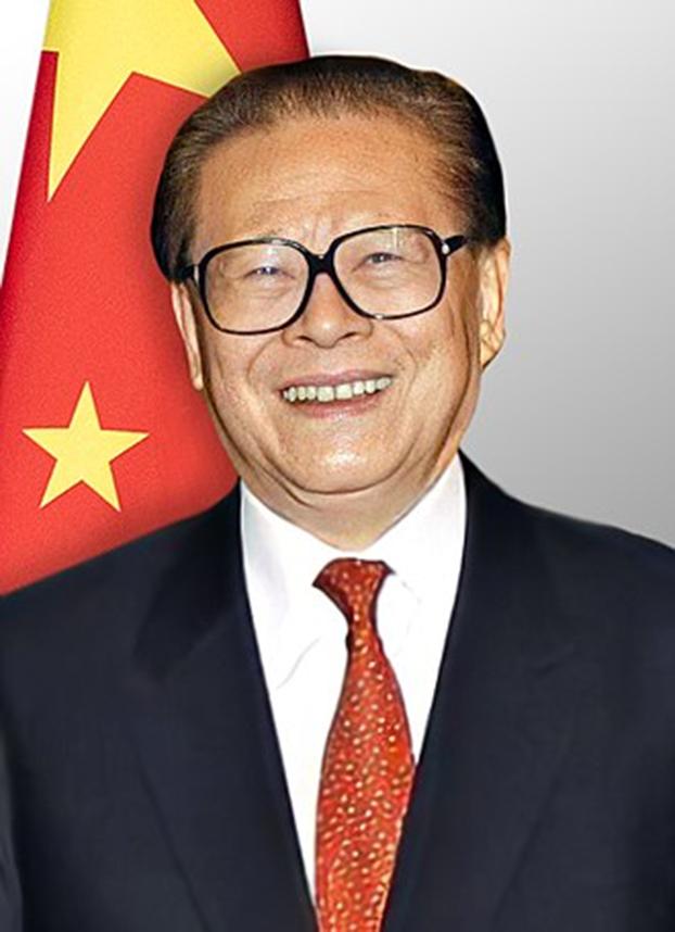"""中国的认知战源自江泽民的""""三战""""。(维基百科)"""