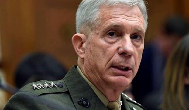 美国非洲司令部司令瓦德豪瑟(Thomas Waldhauser)表示,如果中国人接管吉布提多哈雷(Doraleh)码头,那么后果可能会非常严重。(AP)