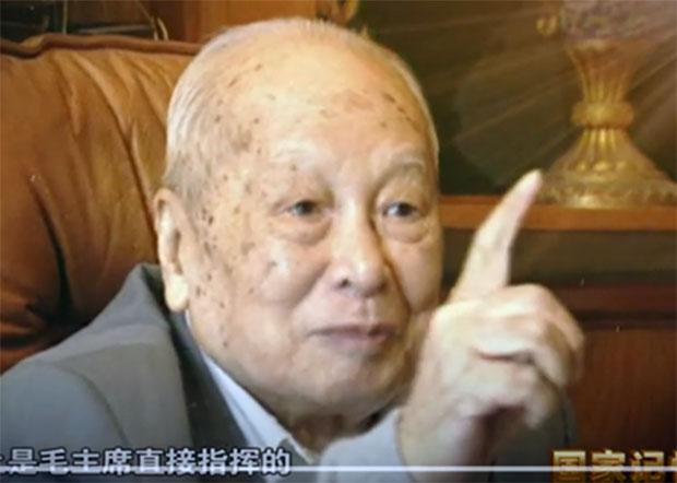 叶飞说:金门炮战是毛主席直接指挥的。(视频截图)