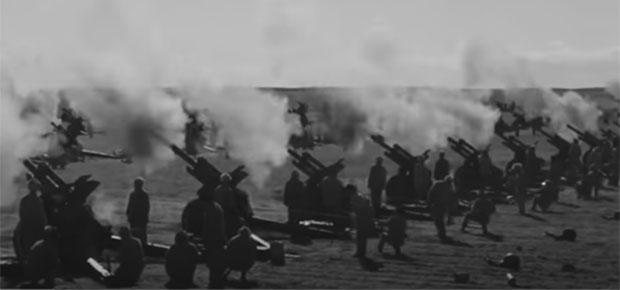 共军向金门发射47万发炮弹。(视频截图)