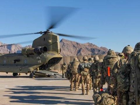 美國從阿富汗撤軍進行戰略轉型。
