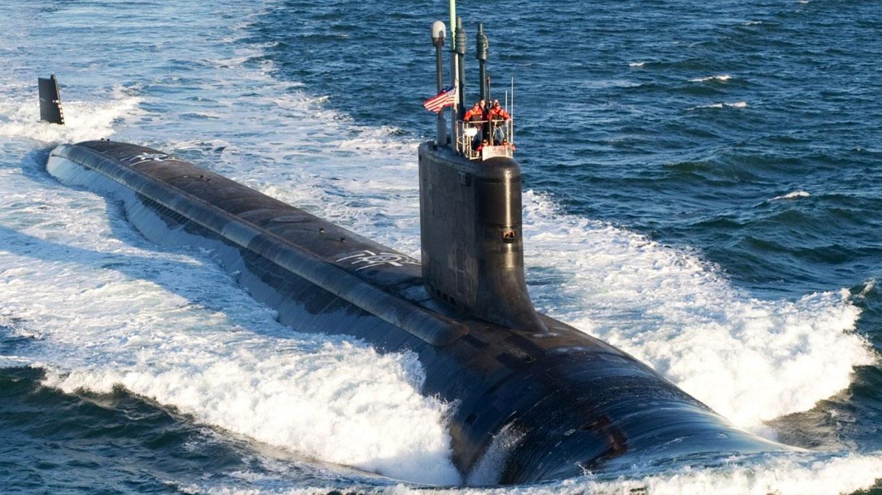 美国弗吉尼亚级(Virginia-class)核潜艇是澳大利亚发展核潜艇的可能型号。(Seaforces Online)