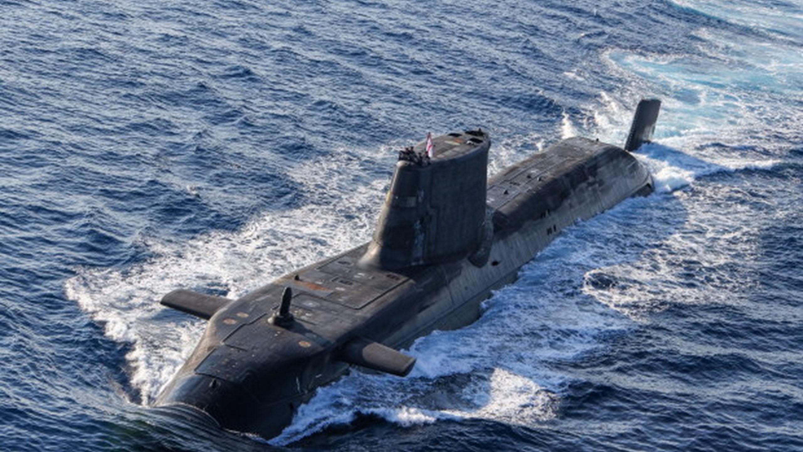 英国阿斯图特级(Astute-class)核潜艇是澳大利亚发展核潜艇的可能型号。(英国皇家海军)