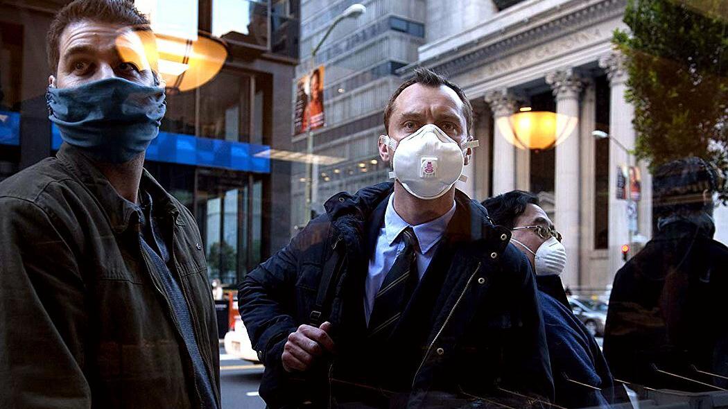 武汉肺炎疫情有如好莱坞灾难电影《Contagion》的翻版。(翻摄自网络)