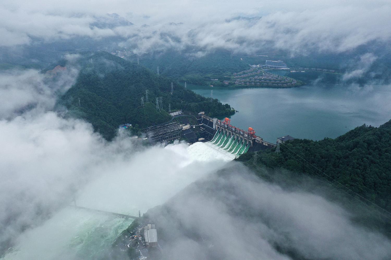 科學家研究發現,水庫大壩助長碳排放,甲烷排放量尤其可觀。(法新社)