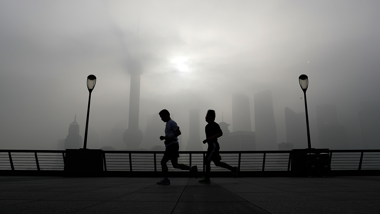 上海是全球船舶污染最严重的地区。(美联社)