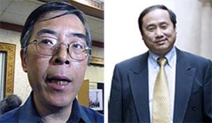 图片:吴仁华(左);王军涛。(资料图片)