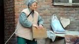 中国北京的一个盲人。