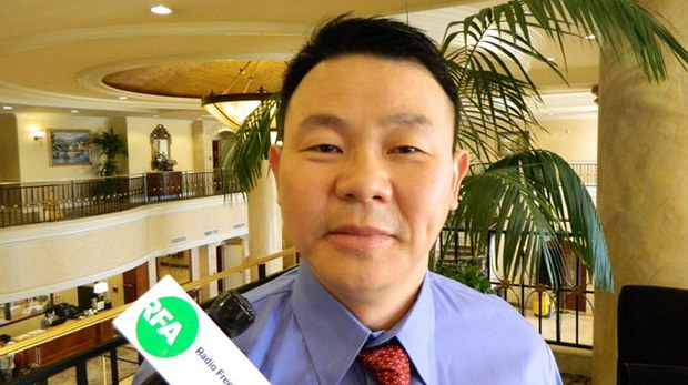流亡美國的前八九學運領袖、華裔美國人熊焱