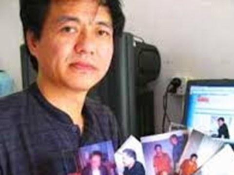 """""""中国舆论监督网""""创办人李新德。"""