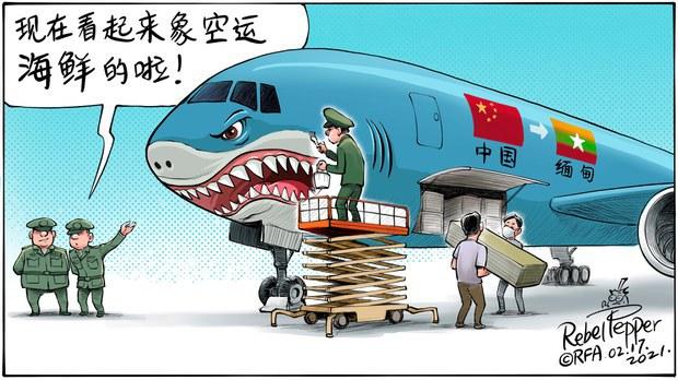 网传中国参与缅甸政变并帮助缅甸网络审查