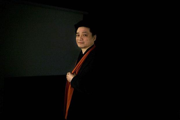 原央视《实话实说》主持人崔永元。(AFP)