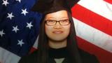 丁璇在美國畢業照:2015年夏(丁璇提供)