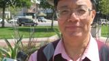 宋永毅接受本台记者采访(记者肖融拍摄)