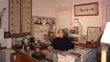 刘晓笛先生在他的工作室(刘晓笛先生提供)