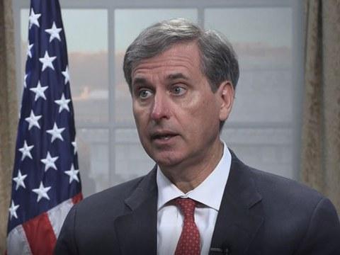 美国国务院负责民主、人权和劳工事务的副助理国务卿斯科特.巴斯比(Scott Busby)。