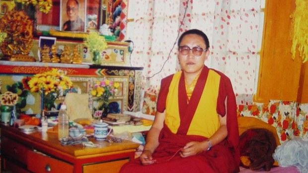 丹增德勒仁波切於1999年。
