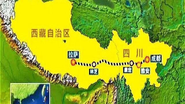 中國開建第二條入藏鐵路。(Public Domain)