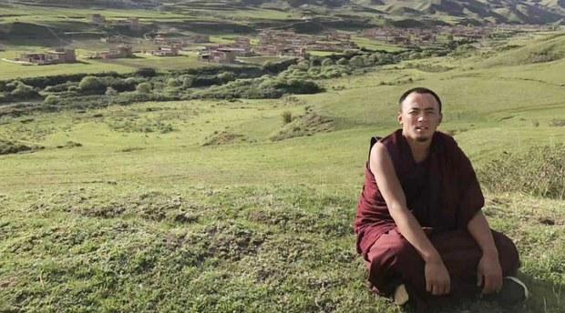 29岁的仁钦措川Rinchen Tsultrim。( Tibet Times)