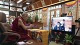 達賴喇嘛尊者與司政邊巴次仁展開線上會晤