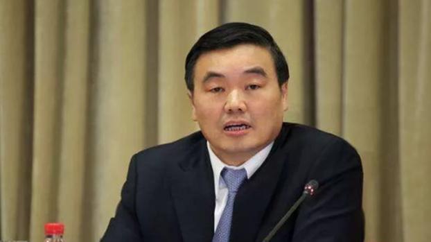 原国家开发银行董事长兼党委书记陈元的接班人胡怀邦。(Public Domain)