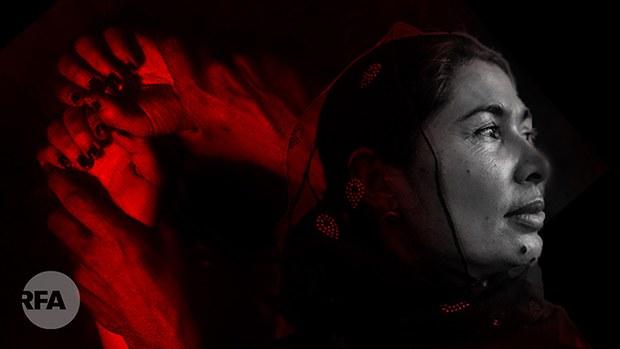 新疆拘留營倖存者披露:營內時常發生強姦和性侵維族婦女事件(自由亞洲電臺製圖)