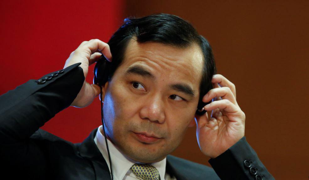 前安邦集团董事长吴小晖。(路透社)