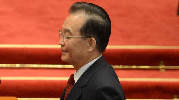 中国前总理温家宝。(AFP)