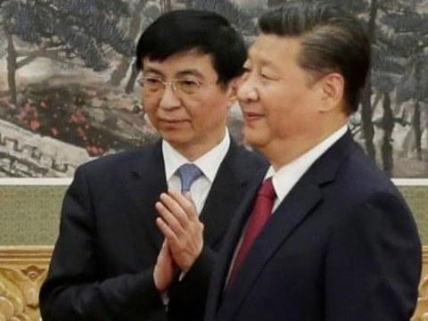 习近平和王沪宁。