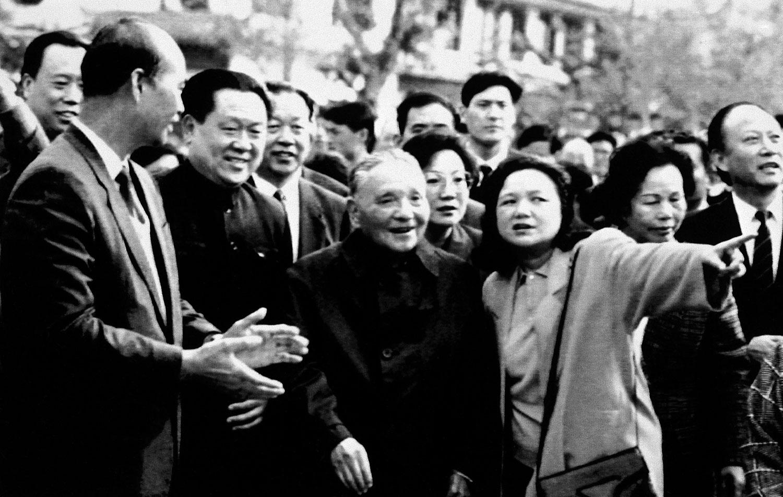 1992年邓小平南巡。(美联社)