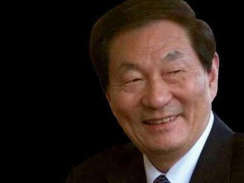 中國前總理朱鎔基。