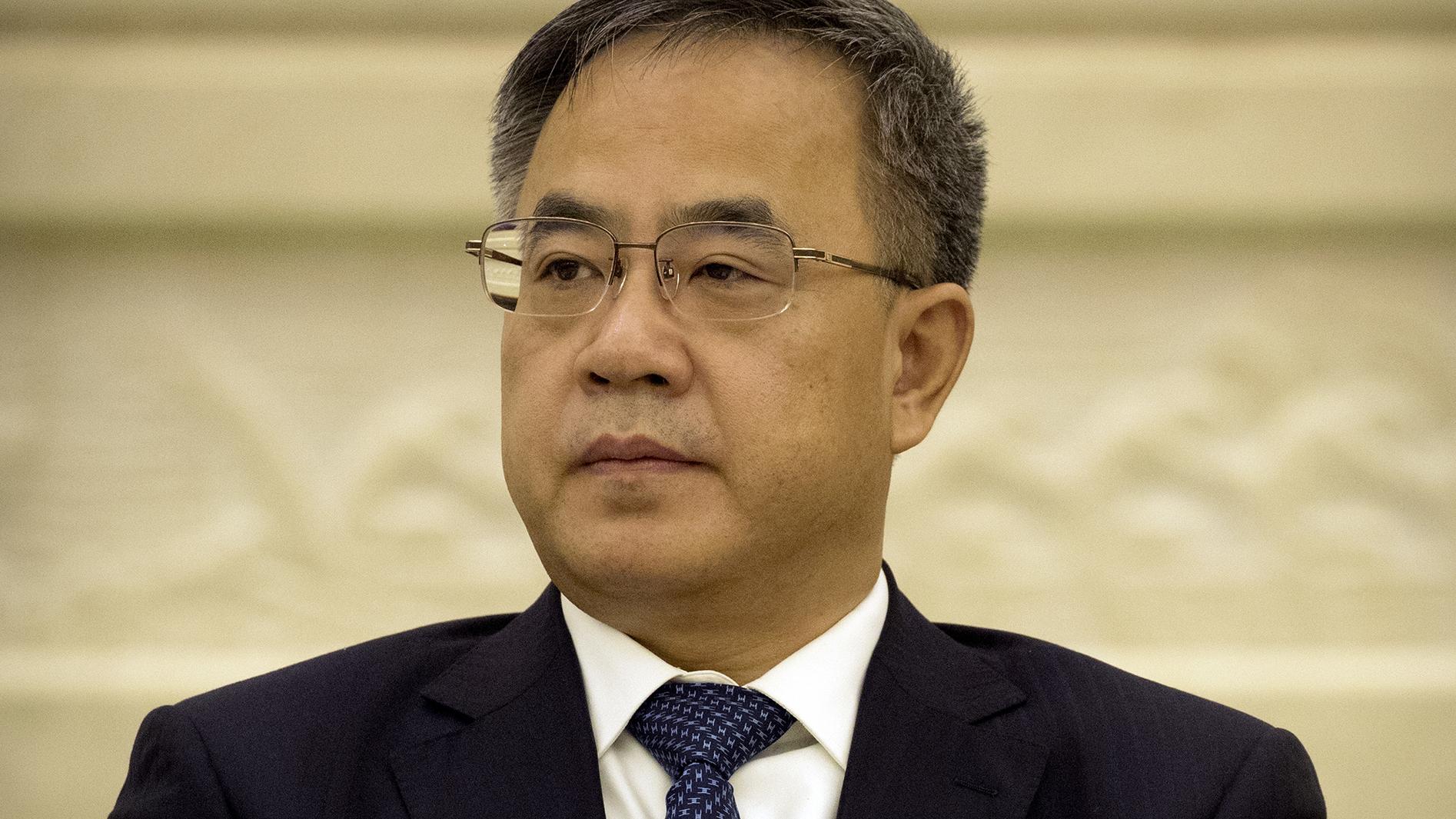 中国国务院副总理胡春华。(美联社)