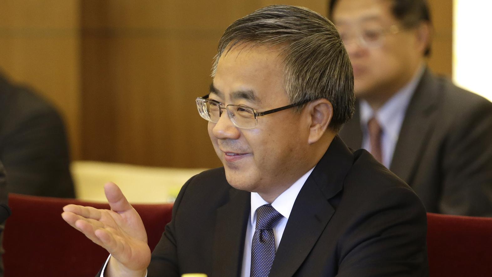 国务院副总理胡春华。(美联社)