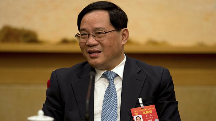 中共上海市委书记李强(美联社)