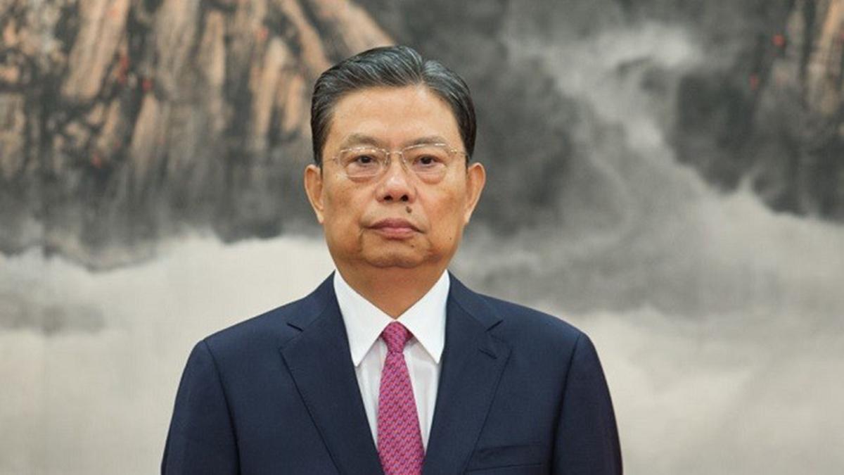 中央政治局常委赵乐际。(Public Domain)
